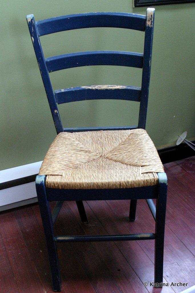 Chair - original blue