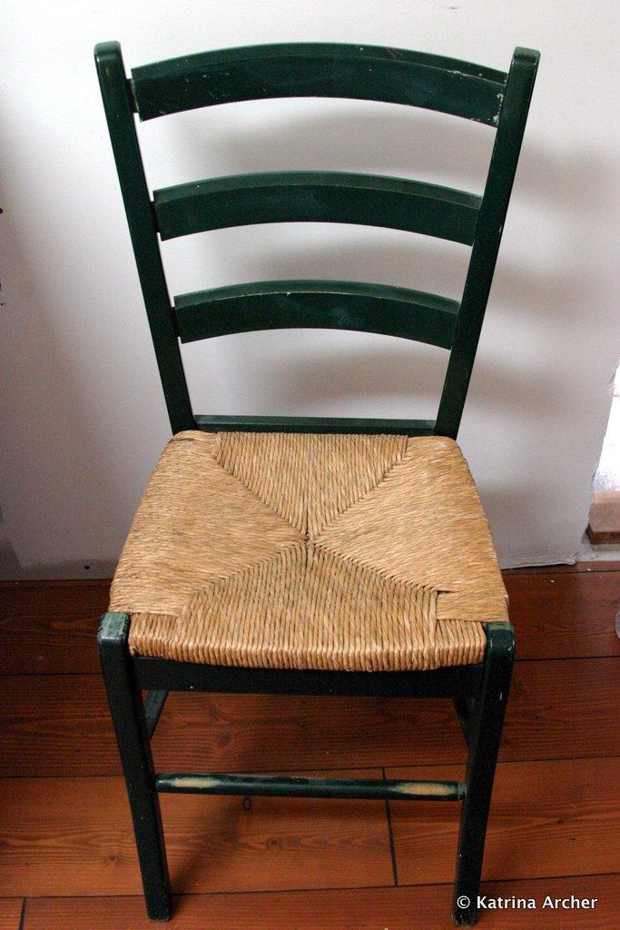 Chair - original green