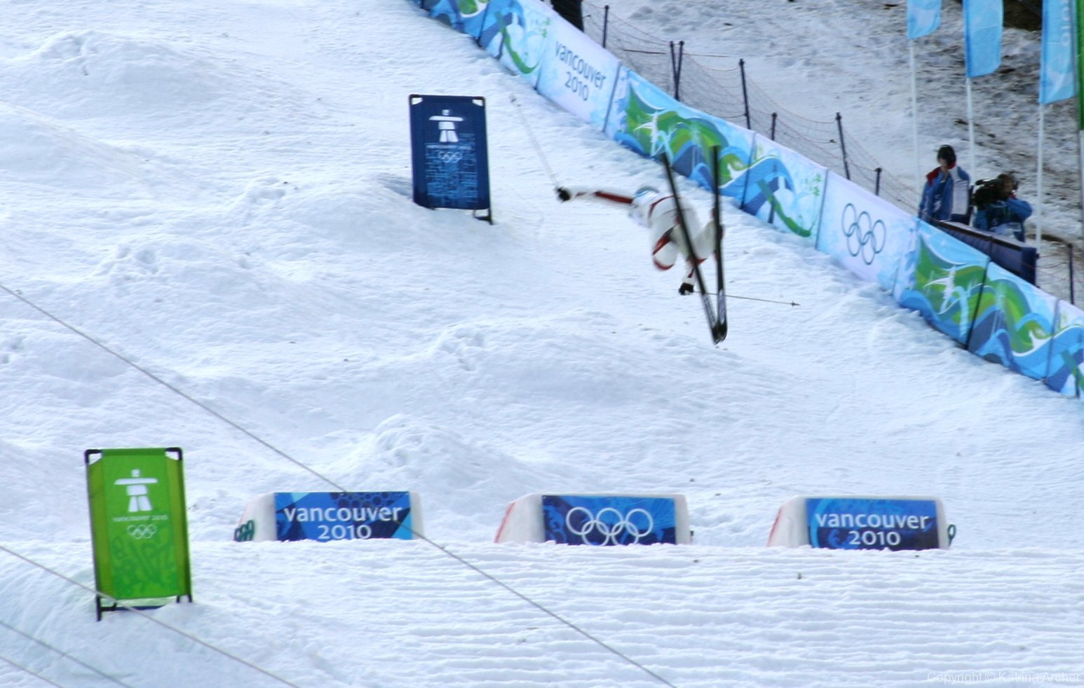 Canadian competitor at men\'s moguls