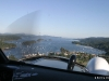 On Approach to Ganges Harbour, Saltspring Island